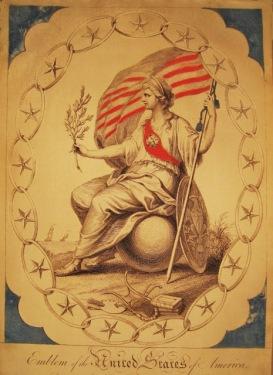 Columbia, or Lady Liberty, 1804