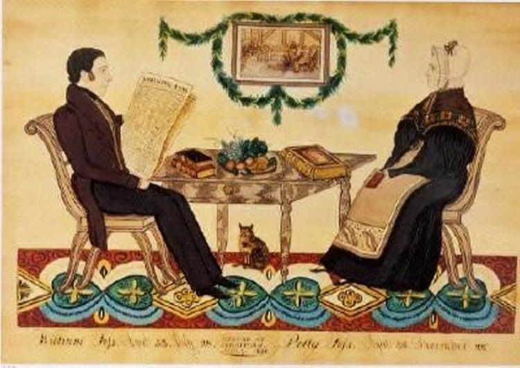 1830s American Families by Joseph H Davis 1811-1865