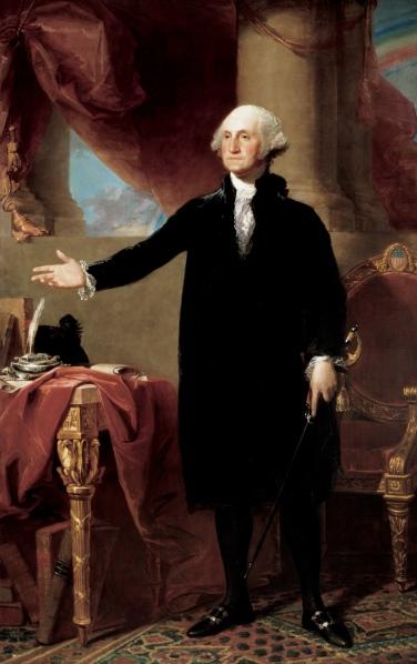 02. Il corpo del Presidente: repubblicano e a termine, 1797. Gilbert Charles Stuart, George Washington Renouncing a Third Term as U.S. President (1797). National Portrait Gallery, Smithsonian Institution, Washington, D.C.