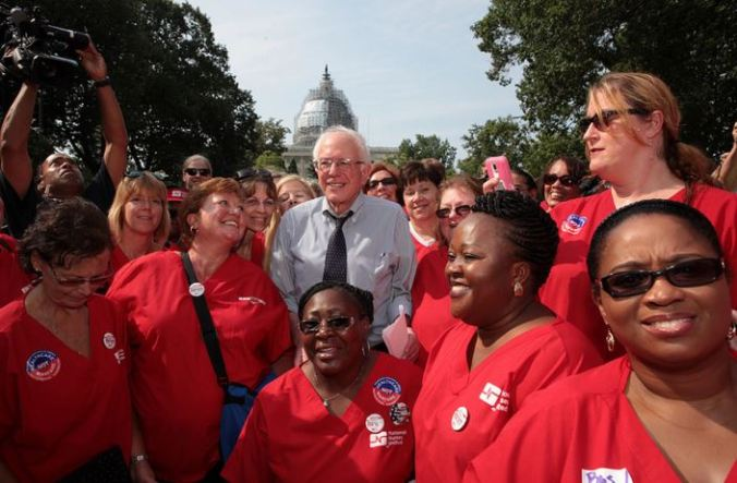 Bernie Sanders & National Nurses United