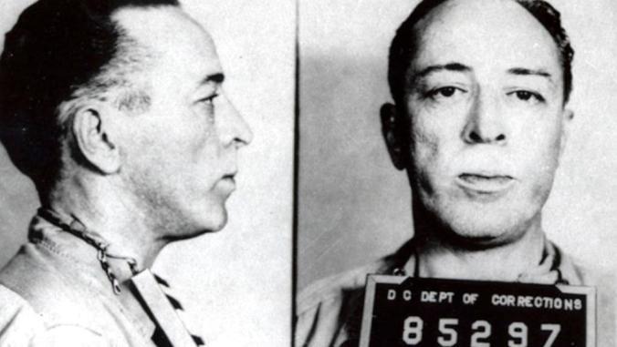 Dalton Trumbo, police mugshot, 1950