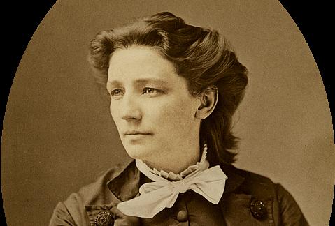 Victoria Woodhull by Mathew Brady, circa 1870