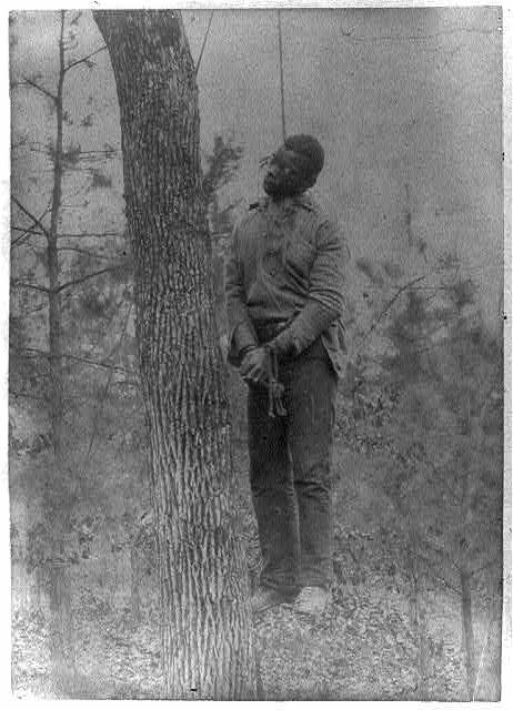 George Meadows, 1889. Murderer & Rapist, Lynched on Scene of His Last Crime. Jefferson County, Alabama, January 15, 1889. Library of Congress, Prints and Photographs Division