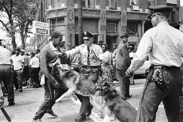 Birmingham, Alabama, 1963. May 3, 1963. Photo by Charles Moore