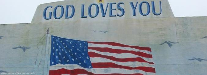 UnitedStatesFloridaAmericanFlagGodLoveYouSignBCHomepage
