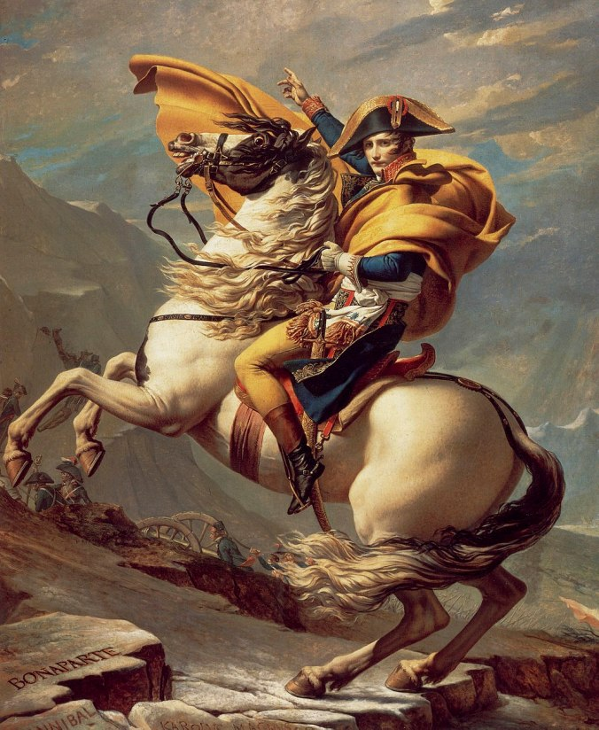 07.David_-_Napoleon_crossing_the_Alps_-_Malmaison2