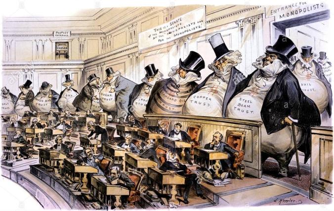 1880-1889-puck-caricatura-politica-los-jefes-del-senado-el-monopolio-de-los-intereses-corporativos-llevan-a-sherman-antitrust-act-e8t4cc