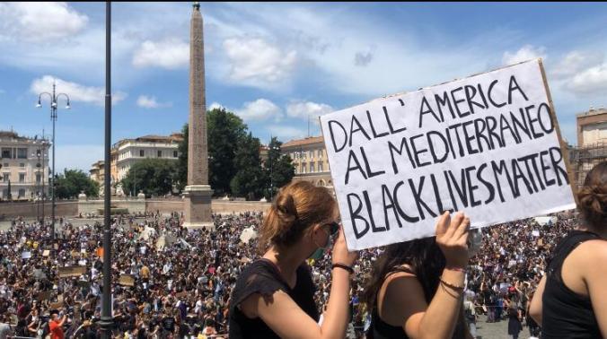 Manifestazione-Roma-Black-Lives-Matter