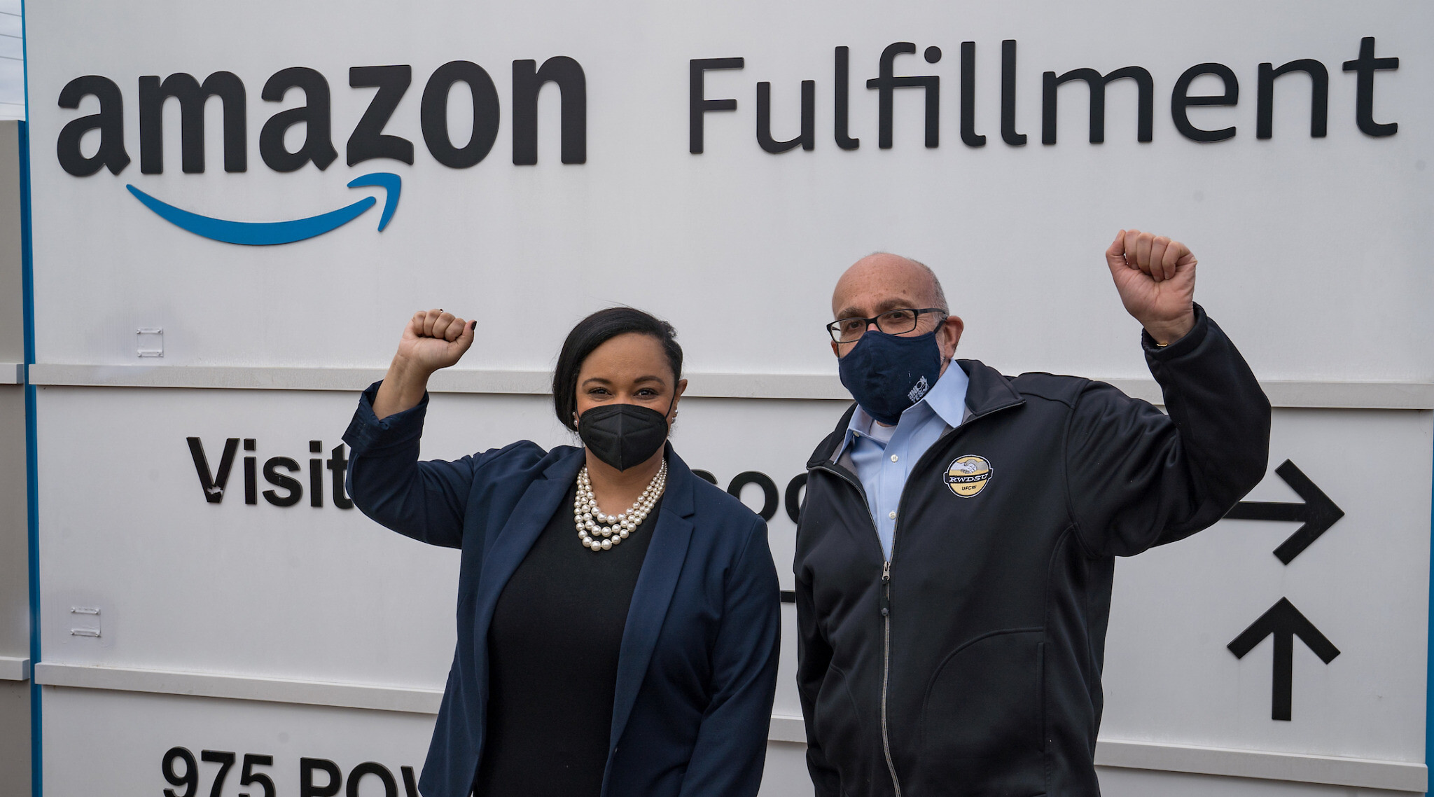 Congressional Delegation Meets With Alabama Amazon Workers In Unionization Push